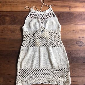 Dresses & Skirts - Crotchet Dress (Ivory)